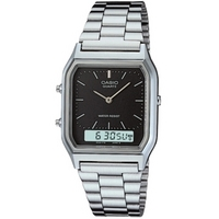 Buy Casio Classic Combi Timer Watch  AQ-230A-1DMQYES online