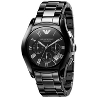 Buy Emporio Armani Black Ceramica Chrono Watch  AR1400 online