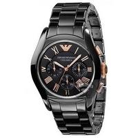 Buy Emporio Armani Ceramica Chronograph Watch AR1410 online