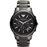 Buy Emporio Armani Black Ceramica Chronograph Watch AR1452 online