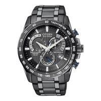 Buy Citizen Gents Eco Drive Atomic Chronograph Bracelet Watch AT4007-54E online