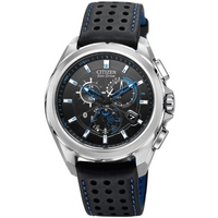Buy Citizen Gents Eco Drive Proximity Black Leather Stap AT7030-05E online