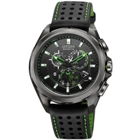 Buy Citizen Gents Eco Drive Proximity Black Leather Strap AT7035-01E online