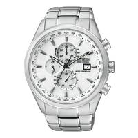 Buy Citizen Gents Eco Drive Atomic Chronograph Bracelet Watch AT8010-58B online