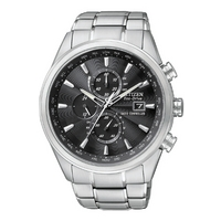 Buy Citizen Gents Eco Drive Atomic Chronograph Bracelet Watch AT8010-58E online