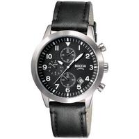 Buy Boccia Chronograph Gents Strap Watch B3772-01 online