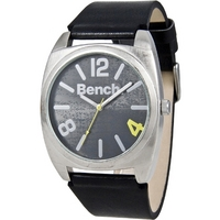 Buy Bench Gents Leather Strap Watch BC0267SLBK online