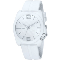 Buy Black Dice Gents White Strap Watch BD-064-03 online