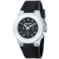 Buy Black Dice Gents Rubber Strap Chronograph Watch BD06801 online
