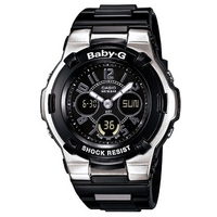 Buy Casio Baby G-Shock Rubber Strap BGA-110-1B2ER online