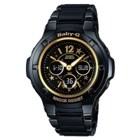 Buy Casio Ladies Baby G-Shock Black BGA-121C-1B1ER online