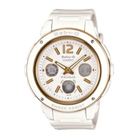 Buy Casio Ladies Baby-G White Chronograph Watch BGA-151-7BER online