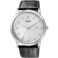 Buy Citizen Gents Eco Drive Black Leather Strap Watch BM7190-05A online