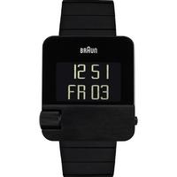 Buy Braun Gents Digital Black Steel Bracelet Watch BN0106BKBTG online