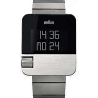 Buy Braun Gents Digital Stainless Steel Bracelet Watch BN0106SLBTG online