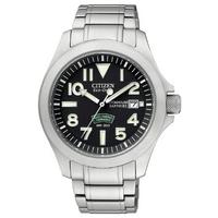 Buy Citizen Gents Royal Marine Commando Titanium Watch BN0110-57E online