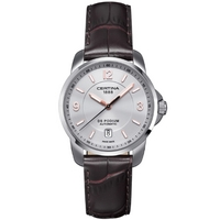 Buy Certina Gents Brown Leather Strap Watch C0014071603701 online