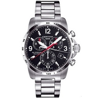 Buy Certina Gents Silver Tone Bracelet Chronograph Watch C0016171105700 online
