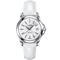 Buy Certina Ladies White Leather Strap Watch C0042101603600 online