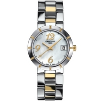 Buy Certina Ladies 2 Tone Bracelet Mother Of Pearl Watch C0092102211200 online