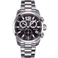 Buy Certina Gents Silver Tone Bracelet Chronograph Watch C0164171105700 online