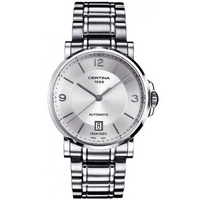 Buy Certina Gents Silver Tone Bracelet Watch C0174071103700 online