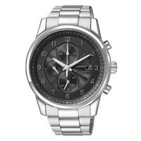Buy Citizen Gents Sports Chronograph Steel Bracelet Watch CA0330-59E online
