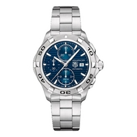 Buy TAG Heuer Gents Aquaracer Chronograph Watch CAP2112.BA0833 online