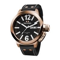 Buy T W Steel Canteen Gents Black Leather Strap Watch CE1021 online