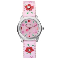 Buy Cannibal Kids Girls Pink Rubber Strap Watch CK114-14 online