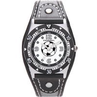Buy Cannibal Kids Boys Black Material Strap Watch CK160-03 online