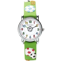 Buy Cannibal Kids Boys Green Rubber Strap Watch CK198-11 online