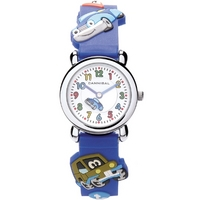 Buy Cannibal Kids Boys Blue Rubber Strap Watch CK199-05 online