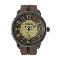 Buy Tendence Unisex Gulliver Slim Rubber Strap Watch CZ78.04TE online