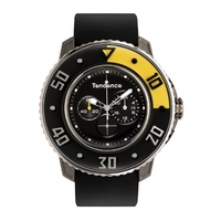 Buy Tendence Unisex G-52 Black Rubber Strap Watch CZ99.04TE online