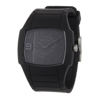 Buy Diesel Gents Fashion Black Rubber Strap Watch DZ1384 online