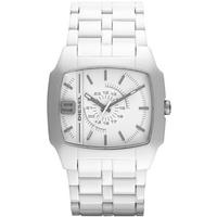 Buy Diesel Gents Trojan Acetate White Fashion Watch DZ1548 online