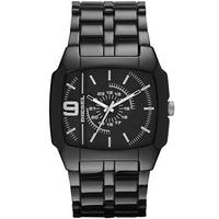 Buy Diesel Gents Trojan Acetate Black Fashion Watch DZ1549 online