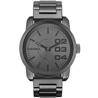 Buy Diesel Gents Black Franchise Black Steel Watch DZ1558 online