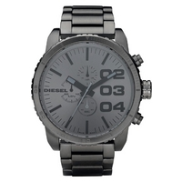 Buy Diesel Gents Black Steel Franchise Watch DZ4215 online