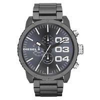 Buy Diesel Gents Franchise Black Steel Chronograph Watch DZ4269 online