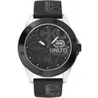 Buy Marc Ecko Mens Black Rubber Strap Watch E09520G3 online