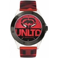Buy Marc Ecko Mens Red Rubber Strap Watch E09520G5 online