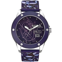 Buy Marc Ecko Gents Blue Rubber Patterned Strap Watch E09530G4 online