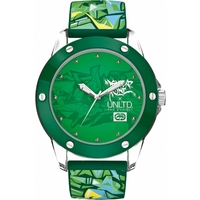 Buy Marc Ecko Gents Green Rubber Patterned Strap Watch E09530G6 online