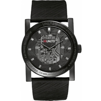 Buy Marc Ecko Mens Black Rubber Strap Watch E11516G1 online