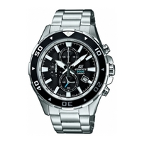 Buy Casio Edifice Chronograph Stainless Steel Bracelet Watch EFM-501D-1AVEF online