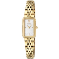 Buy Citizen Ladies Silhouette Gold Tone Steel Bracelet Watch EG2822-51A online