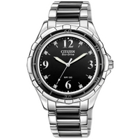 Buy Citizen Ladies Ceramic and Steel Bracelet Watch EM0031-56E online