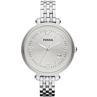 Buy Fossil Ladies Heather Silver Tone Bracelet Watch ES3129 online
